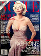 "Michelle Williams en la portada de la revista ""Vogue"" como Marilyn Monroe"
