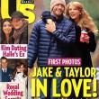 Esta fue la portada que confirmó un secreto a voces: Jake y Taylor estaban juntos
